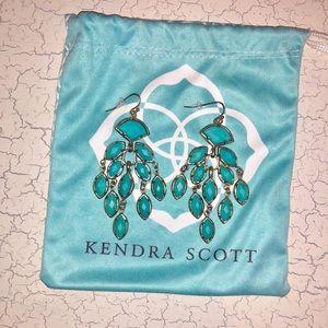 Kendra Scott Turquoise Chandelier Earrings
